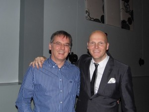 Britains Finest Big Band leader Andy Prior.