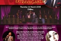 Big Band Swing Extravaganza – March 1st 2018.